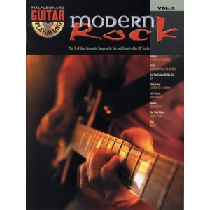 Guitar Play-Along Volume 5: Modern Rock