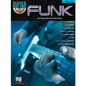 Guitar Play-Along Volume 52: Funk