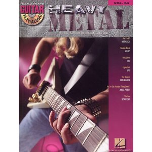 Guitar Play-Along Volume 54: Heavy Metal (Book and CD)