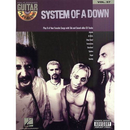 Hal Leonard Guitar Play-Along Volume 57: System Of A Down