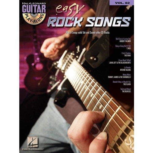 Hal Leonard Guitar Play-Along Volume 82: Easy Rock Songs