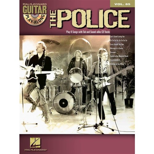 Hal Leonard Guitar Play-Along Volume 85: The Police