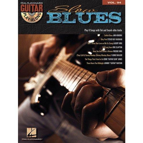 Hal Leonard Guitar Play-Along Volume 94: Slow Blues (Book/CD)