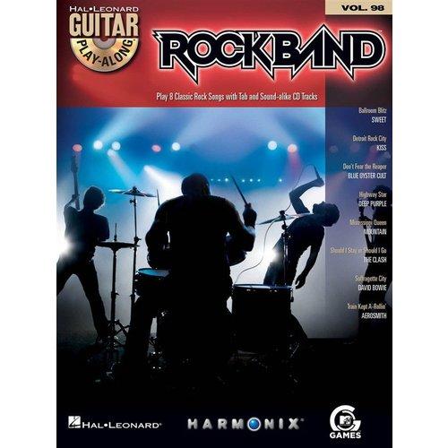 Hal Leonard Guitar Play-Along Volume 98: Rock Band