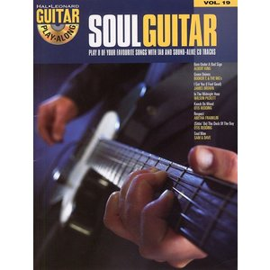 Hal Leonard Guitar Play-Along Volume 19: Soul Guitar