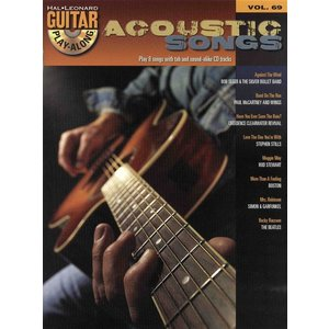 Hal Leonard Guitar Play-Along Volume 69: Acoustic Songs