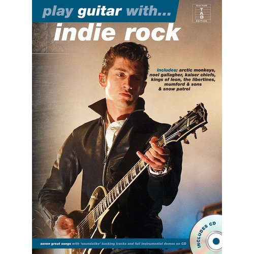 Hal Leonard Play Guitar With... Indie Rock
