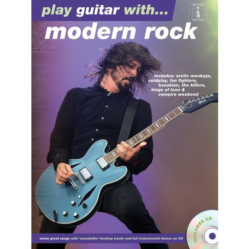 Hal Leonard Play Guitar With... Modern Rock