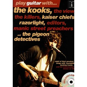 Play Guitar With... The Kooks, The View, The Killers… and The Pigeon Detectives (Book And CD)