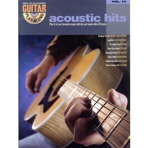 Guitar Play-Along Acoustic Hits Volume 10 (Book And CD)