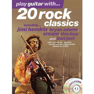 Play Guitar With... 20 Rock Classics