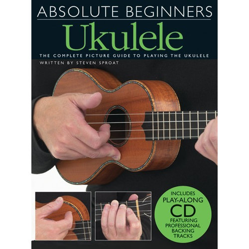 Wise Publications Absolute Beginners: Ukulele (Book And CD)