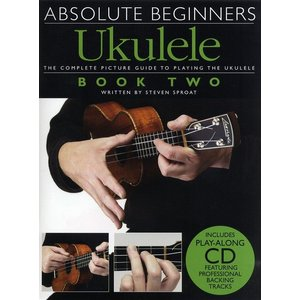 Absolute Beginners: Ukulele Book 2 (Book and CD)