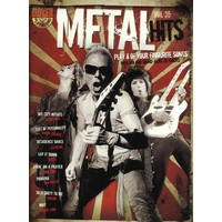 Guitar Play-Along Volume 35: Metal Hits (Book And CD)