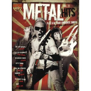 Guitar Play-Along Volume 35: Metal Hits (Book And CD)