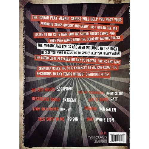 Hal Leonard Guitar Play-Along Volume 35: Metal Hits (Book And CD)