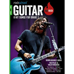Rockschool: Hot Rock Guitar - Grade 2 (Book/Download Card)