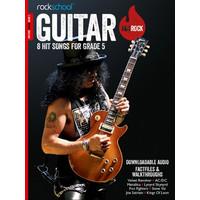 Rockschool: Hot Rock Guitar - Grade 5 (Book/Download Card)