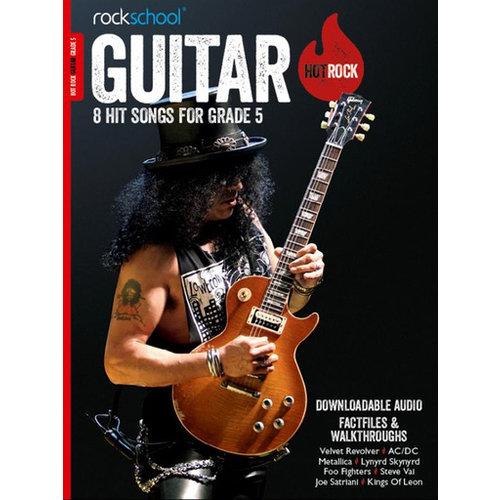 Rockschool Ltd. Rockschool: Hot Rock Guitar - Grade 5 (Book/Download Card)