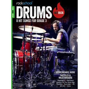 Rockschool: Hot Rock Drums - Grade 3 (Book/Download Card)
