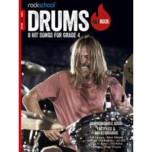 Rockschool: Hot Rock Drums - Grade 4 (Book/Download Card)