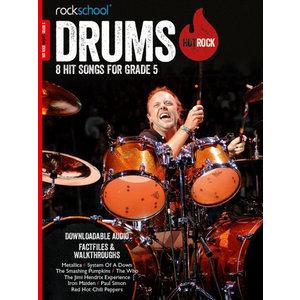 Rockschool: Hot Rock Drums - Grade 5 (Book/Download Card)