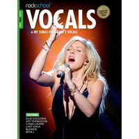 Rockschool: Vocals Grade 2 - Female (Book/Audio Download) 2014-2017 Syllabus