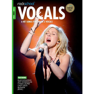 Rockschool: Vocals Grade 2 - Female (Book/Audio Download) 2014-2017 Syllabus