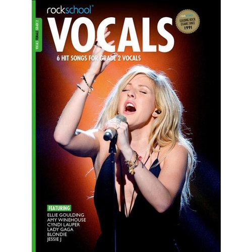 Rockschool Ltd. Rockschool: Vocals Grade 2 - Female (Book/Audio Download) 2014-2017 Syllabus