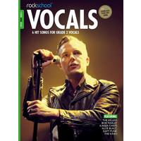 Rockschool: Vocals Grade 2 - Male (Book/Download Card) 2014-2017 Syllabus