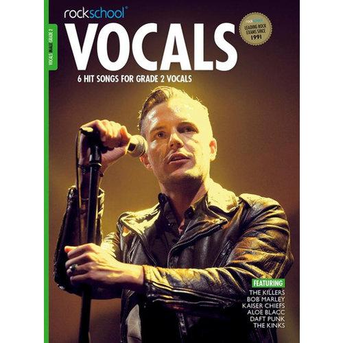 Rockschool Ltd. Rockschool: Vocals Grade 2 - Male (Book/Download Card) 2014-2017 Syllabus