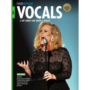 Rockschool: Vocals Grade 3 - Female (Book/Audio Download) 2014-2017 Syllabus
