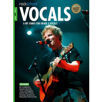 Rockschool: Vocals Grade 3 - Male (Book/Download Card) 2014-2017 Syllabus