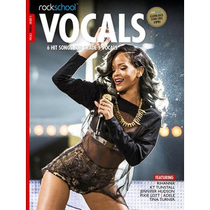 Rockschool: Vocals Grade 5 - Female (Book/Download Card) 2014-2017 Syllabus