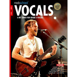 Rockschool: Vocals Grade 5 - Male (Book/Download Card) 2014-2017 Syllabus