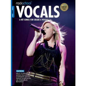 Rockschool: Vocals Grade 6 - Female (Book/Download Card) 2014-2017 Syllabus