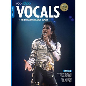 Rockschool: Vocals Grade 6 - Male (Book/Download Card) 2014-2017 Syllabus