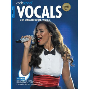 Rockschool: Vocals Grade 7 - Female (Book/Download Card) 2014-2017 Syllabus