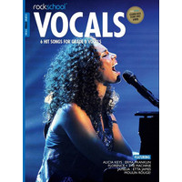 Rockschool: Vocals Grade 8 - Female (Book/Download Card) 2014-2017 Syllabus