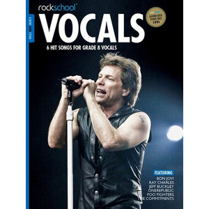 Rockschool: Vocals Grade 8 - Male (Book/Download Card) 2014-2017 Syllabus