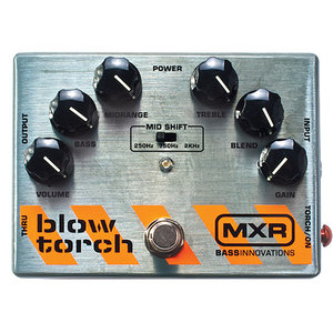 MXR M181 Blow Torch Bass Overdrive Pedal