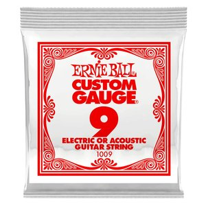 Ernie Ball Single String, Plain Steel