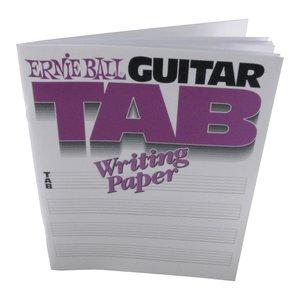 Ernie Ball Guitar Tablature Manuscript Book