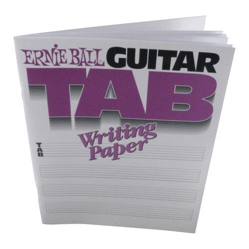 Ernie Ball Ernie Ball Guitar Tablature Manuscript Book