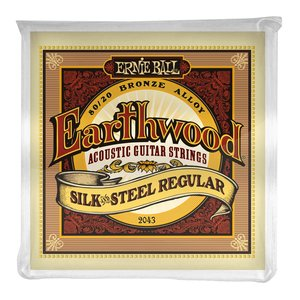 Ernie Ball Earthwood Silk & Steel Acoustic String Set