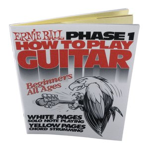 Ernie Ball Guitar Method Phase 1 Book