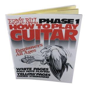 Ernie Ball Guitar Method Phase 1 Book