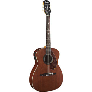 Fender Tim Armstrong Hellcat Electro-Acoustic Guitar, Solid Mahogany Top