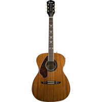 Fender Tim Armstrong Hellcat Left-Handed Electro-Acoustic Guitar, Solid Mahogany Top