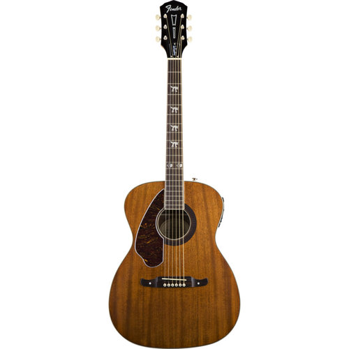 Fender Fender Tim Armstrong Hellcat Left-Handed Electro-Acoustic Guitar, Solid Mahogany Top